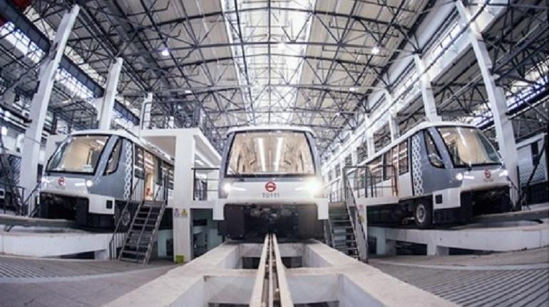 Первая на100% автоматическая ветка метро запущена втестовую эксплуатацию вШанхае