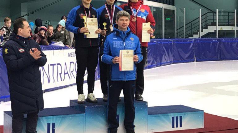 Тренер: шорт-трекисты в Петербурге показали хороший результат