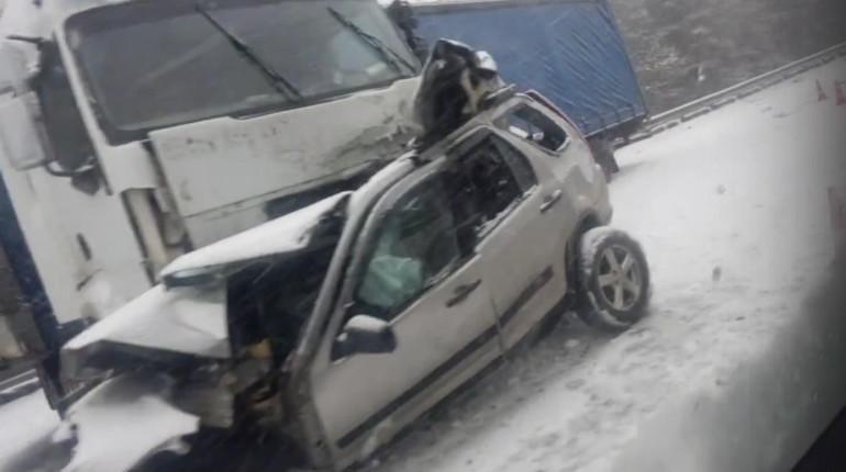 Под Выборгом случилось смертельное ДТП с фургоном