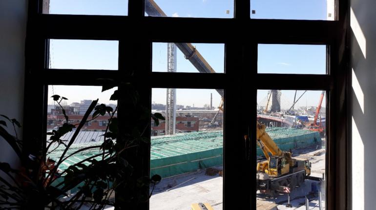 Дом на Ремесленной трясет от работ на Серном мосту
