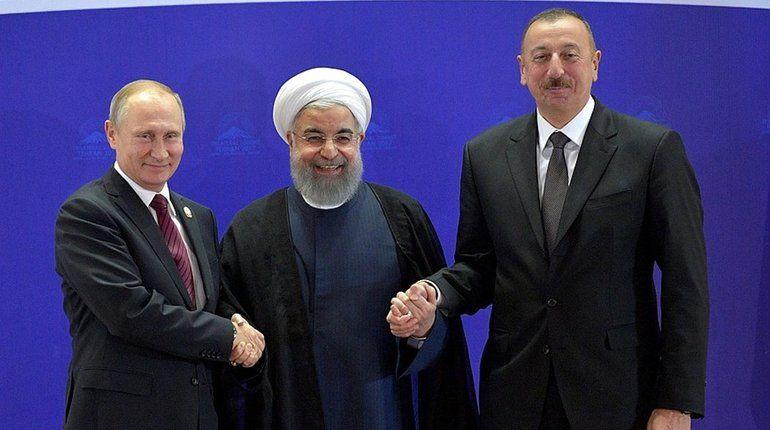 Владимир Путин поговорил с Алиевым и Рухани о Сирии и нефти