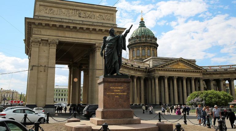 Пасхальный крестный ход перекроет движение машин вокруг Казанского собора