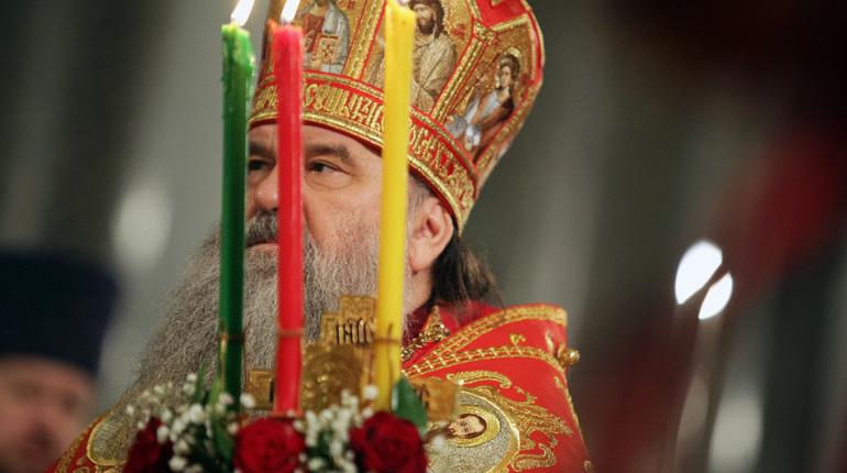 Митрополит Варсонофий поздравил верующих Петербурга спраздником Пасхи