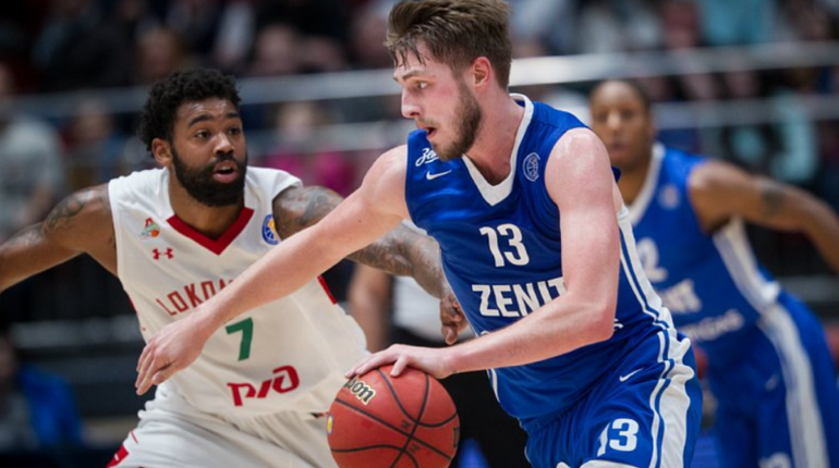 Баскетбольный «Зенит» одолел «Локомотив-Кубань»