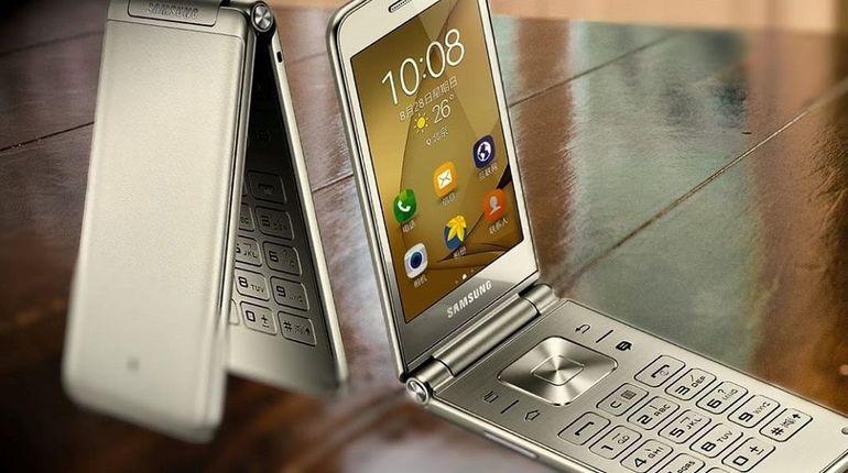 Первый смартфон-«раскладушка» от Samsung выйдет в конце года