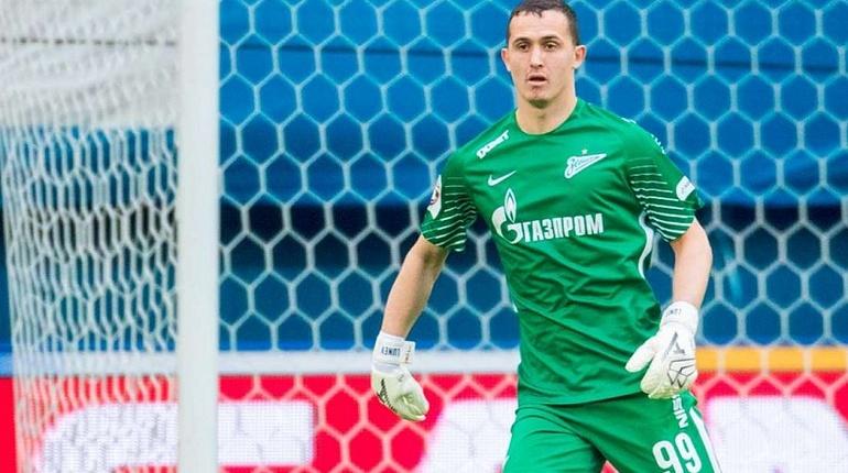 ВратарьФК «Зенит» исборнойРФ Андрей Лунёв выбыл доконца сезона