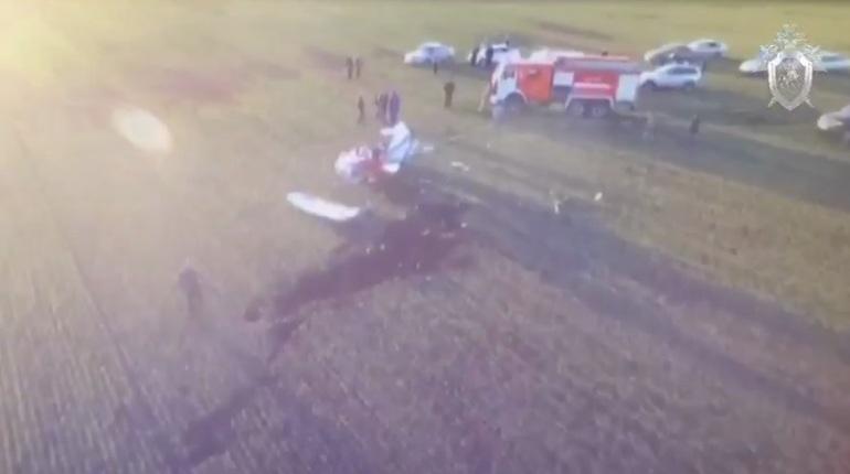 ВЛипецкой области Следком рассматривает версии авиакатастрофы с 2-мя погибшими