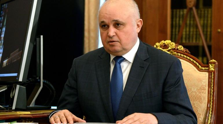 Сергей Цивилев сказал, что появится наместе сгоревшей «Зимней вишни» вКемерове