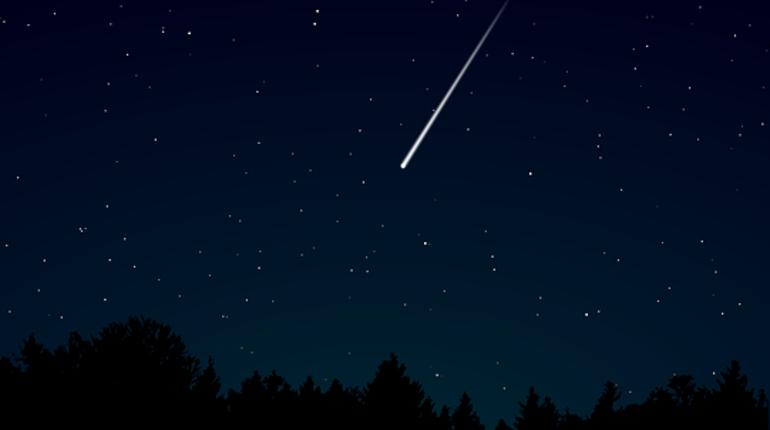 На текущей неделе вПерми можно наблюдать метеорный поток Лириды