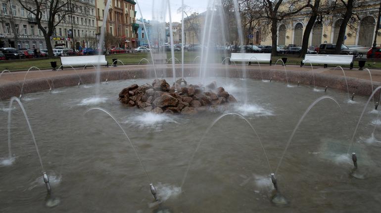 В Петербурге 19 апреля откроется сезон фонтанов, сообщили в ГУП