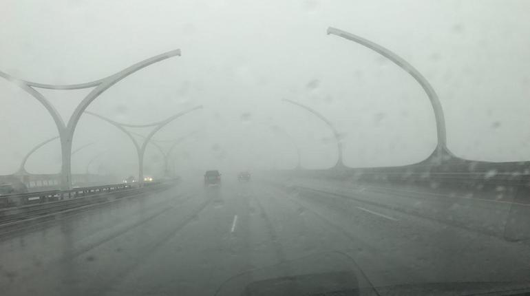 Водителей официально предупредили о густом тумане на ЗСД