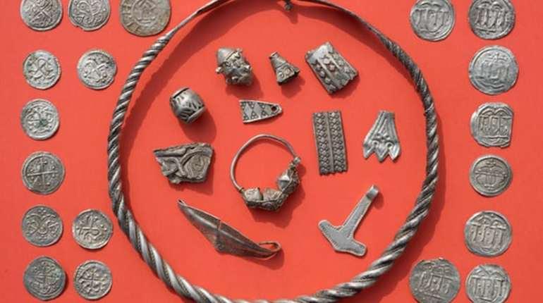 Найден клад легендарного викинга