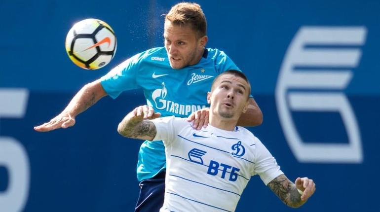 Объявлен состав «Зенита» на игру с «Динамо»