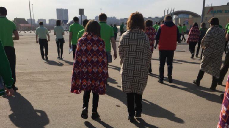 На улице Культуры эвакуировали Леруа Мерлен
