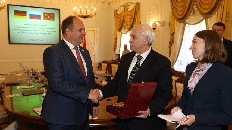 Петербург и Дрезден укрепят деловые и культурные связи