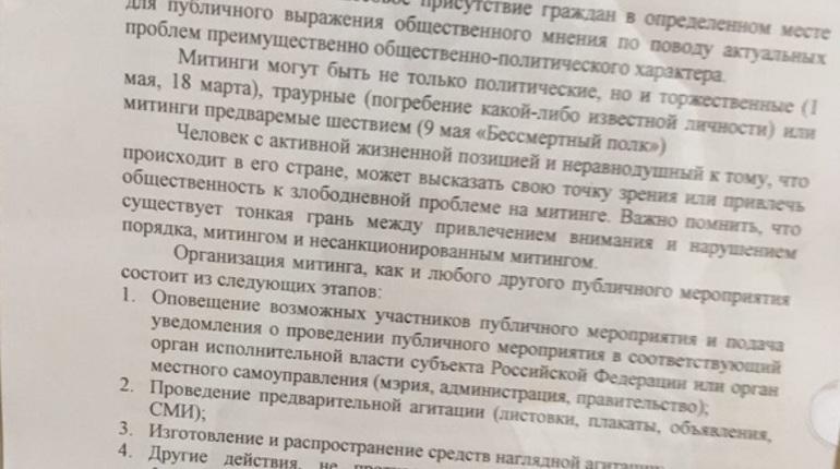 Школьников Петербурга протестировали на любовь к родине