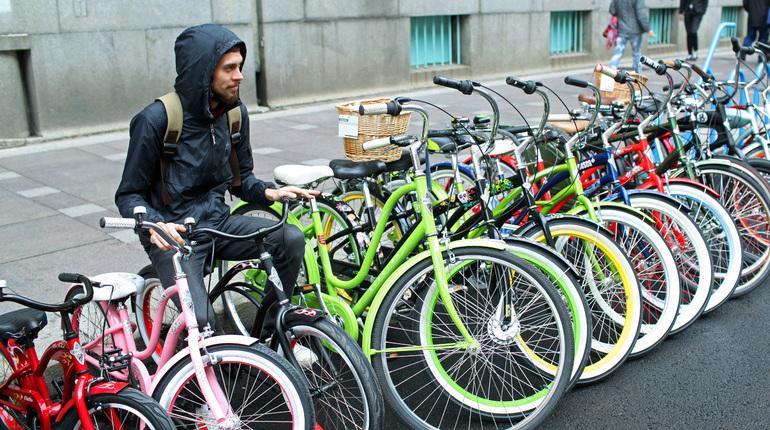 Петербург откроет велосезон на Дворцовой площади