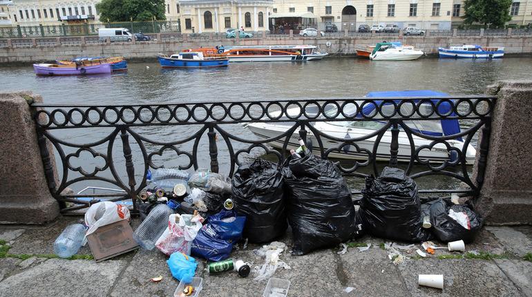 Накануне «Дня Земли» Петербург почистили и помыли