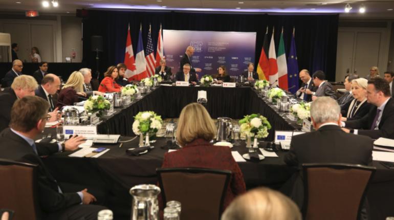 G7 обвинила РФ вдестабилизирующем поведении