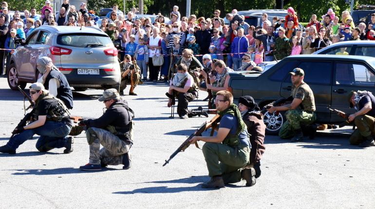 На Васильевском острове проводят антитеррористические учения