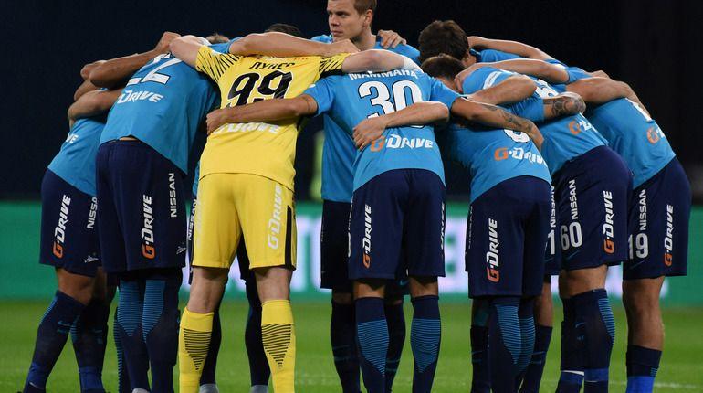 На «Казань-Арене» начался матч между «Зенитом» и«Рубином»
