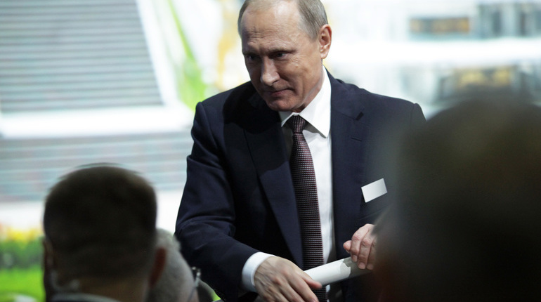 Путин вПитере посетит русский съезд ректоров