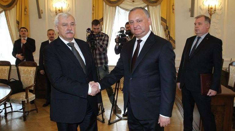 Молдова и Петербург укрепят сотрудничество