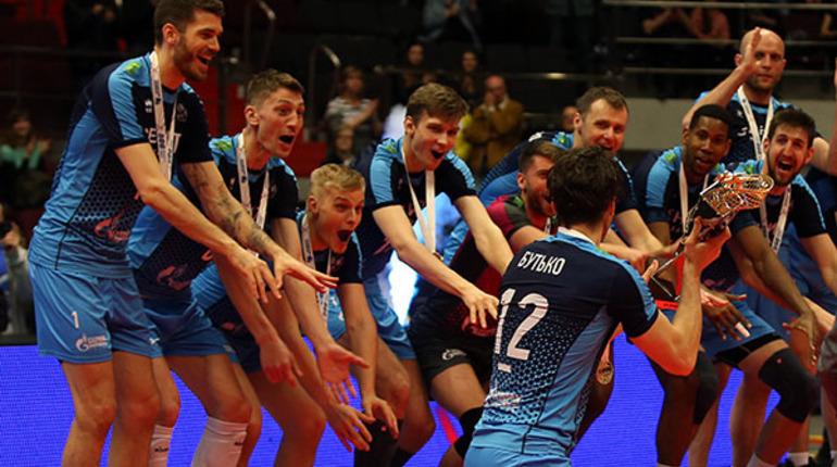 Волейболисты казанского «Зенита» 5-й раз подряд стали чемпионами Российской Федерации