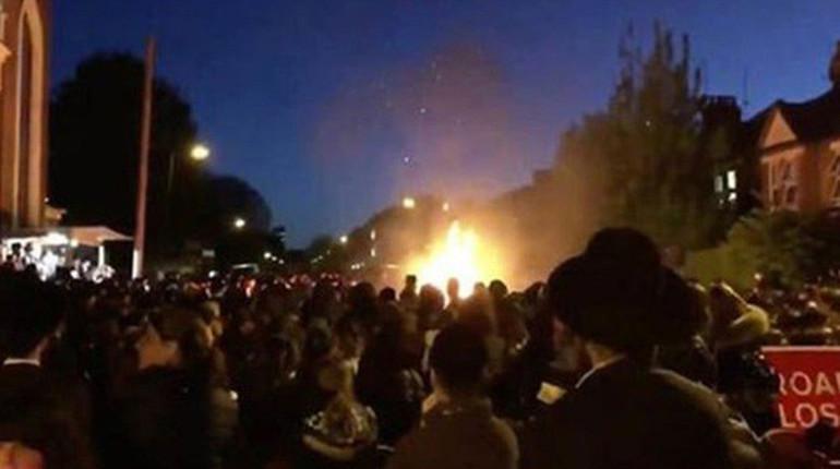 Десять человек пострадали при взрыве на еврейском фестивале в Лондоне