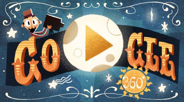 Google посвятила неповторимый VR-дудл пионеру кинематографа Жоржу Мельесу