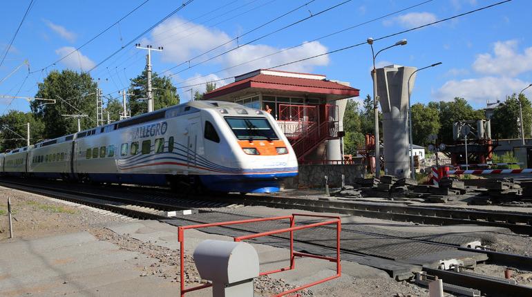 График движения «Аллегро» изменят из-за ремонта путей вФинляндии