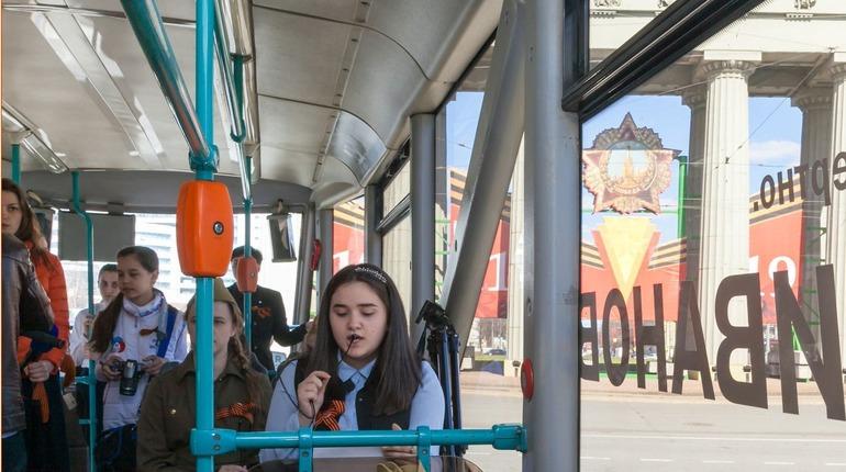 ВоФрунзенском районе будет курсировать трамвай Победы