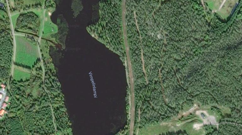 Озеро, напоминающее посвоей форме Дональда Трампа, найдено вФинляндии