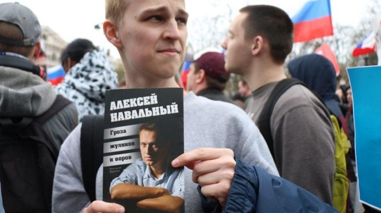 Алексея Навального задержали в столице наПушкинской площади
