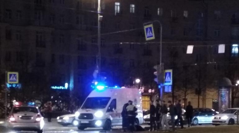 На Московском проспекте сбили пешехода