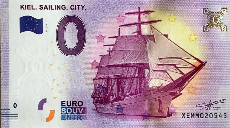 ВСловакии коДню Победы выпустили сувенирную банкноту снулевым номиналом