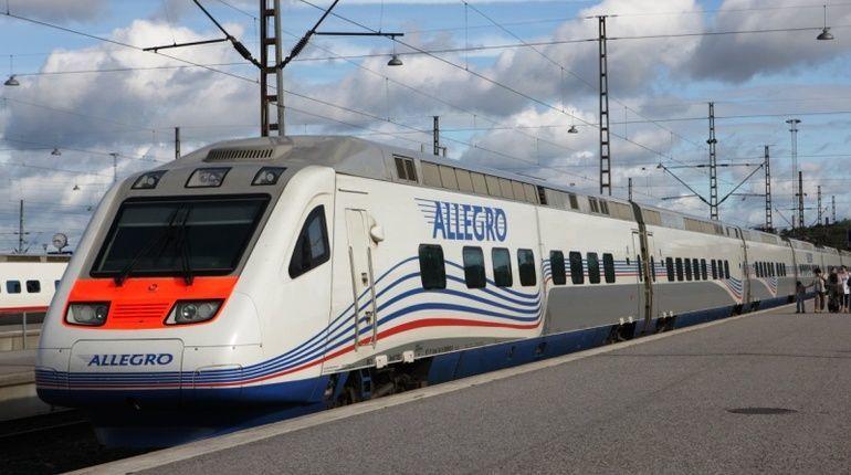 «Аллегро» из Хельсинки опаздывает в Петербург
