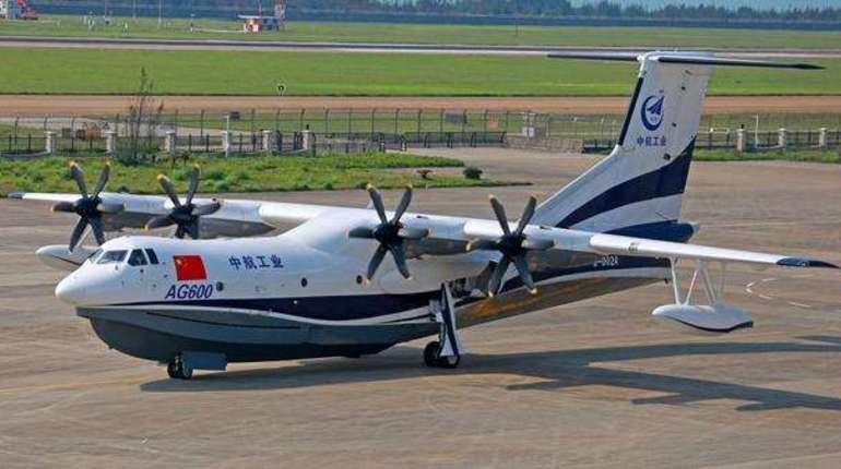 КНР  начнет поставки крупнейшего вмире самолета-амфибии в 2022г