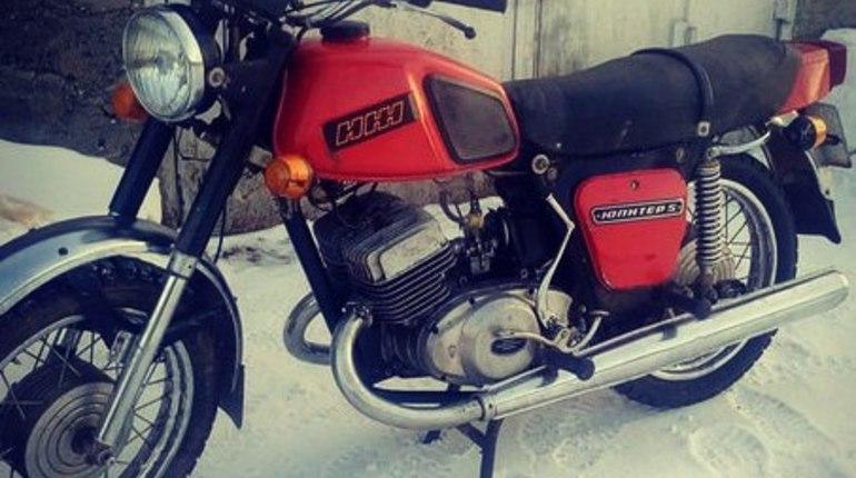 В Петербурге нашли мотоцикл, который шесть лет был в международном розыске