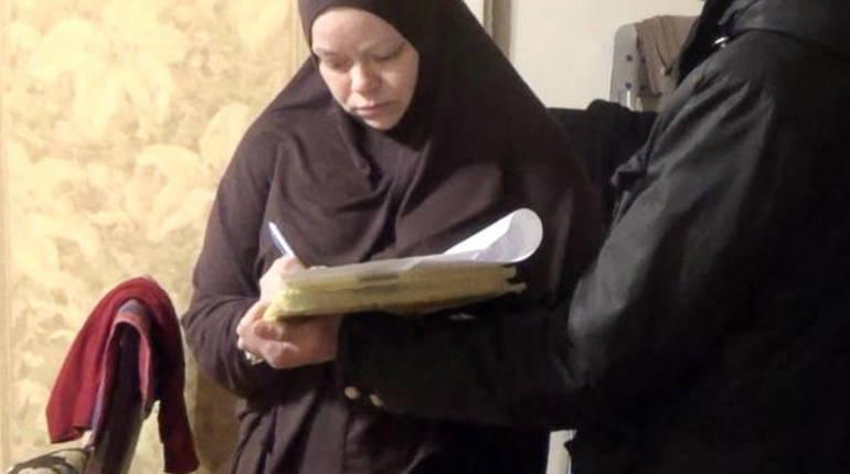 Суд продлил арест обвиняемой в терроризме Алле Беспаловой