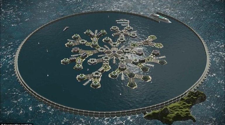 В Тихом океане строят плавающий остров-утопию