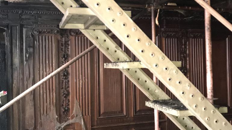 В КГИОП рассказали о последствиях пожара в реставрируемом