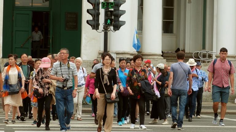 Санкт-Петербург сделают неменее доступным для туристов изКитая