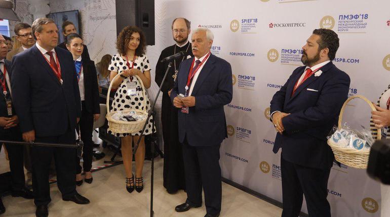 Полтавченко: Петербург на ПМЭФ подпишет соглашение о строительстве технопарка ИТМО