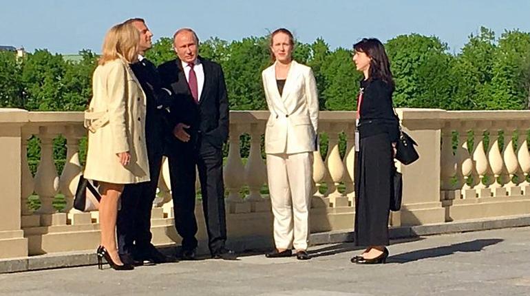 Макрон: Франция желает опередить Германию поинвестициям в Российскую Федерацию