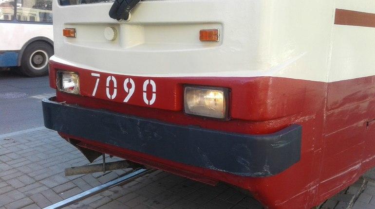 Трамваи остановились на Новочеркасском проспекте