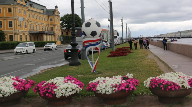 В Санкт-Петербурге завершилось украшение города цветочными композициями. Порядка семидесяти видов растений было задействовано во время преображения улиц Северной столицы.
