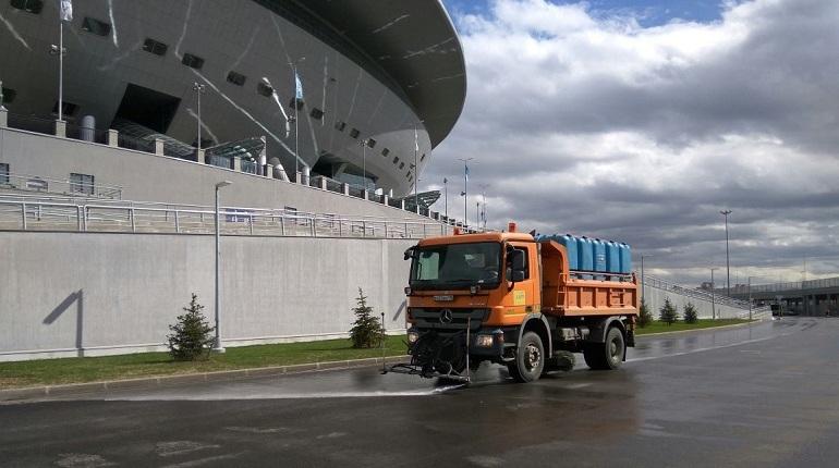 На ЧМ-2018 за стадионом «Санкт-Петербург» будут следить 130 дворников
