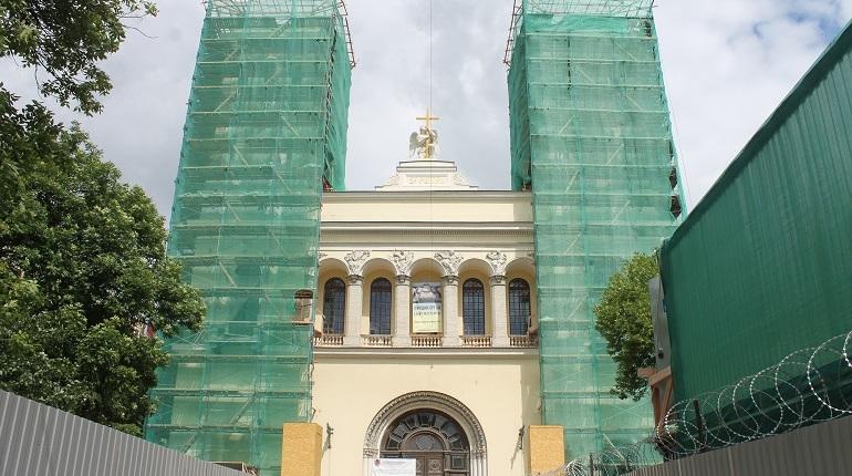 На реставрацию Лютеранского храма на Невском Смольный потратит еще 100 миллионов