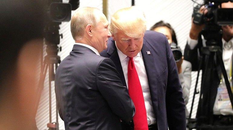 Путин ответил Трампу на вопрос о вмешательстве в выборы